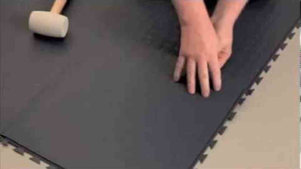 Tuff-Seal Tile: Lining up joints