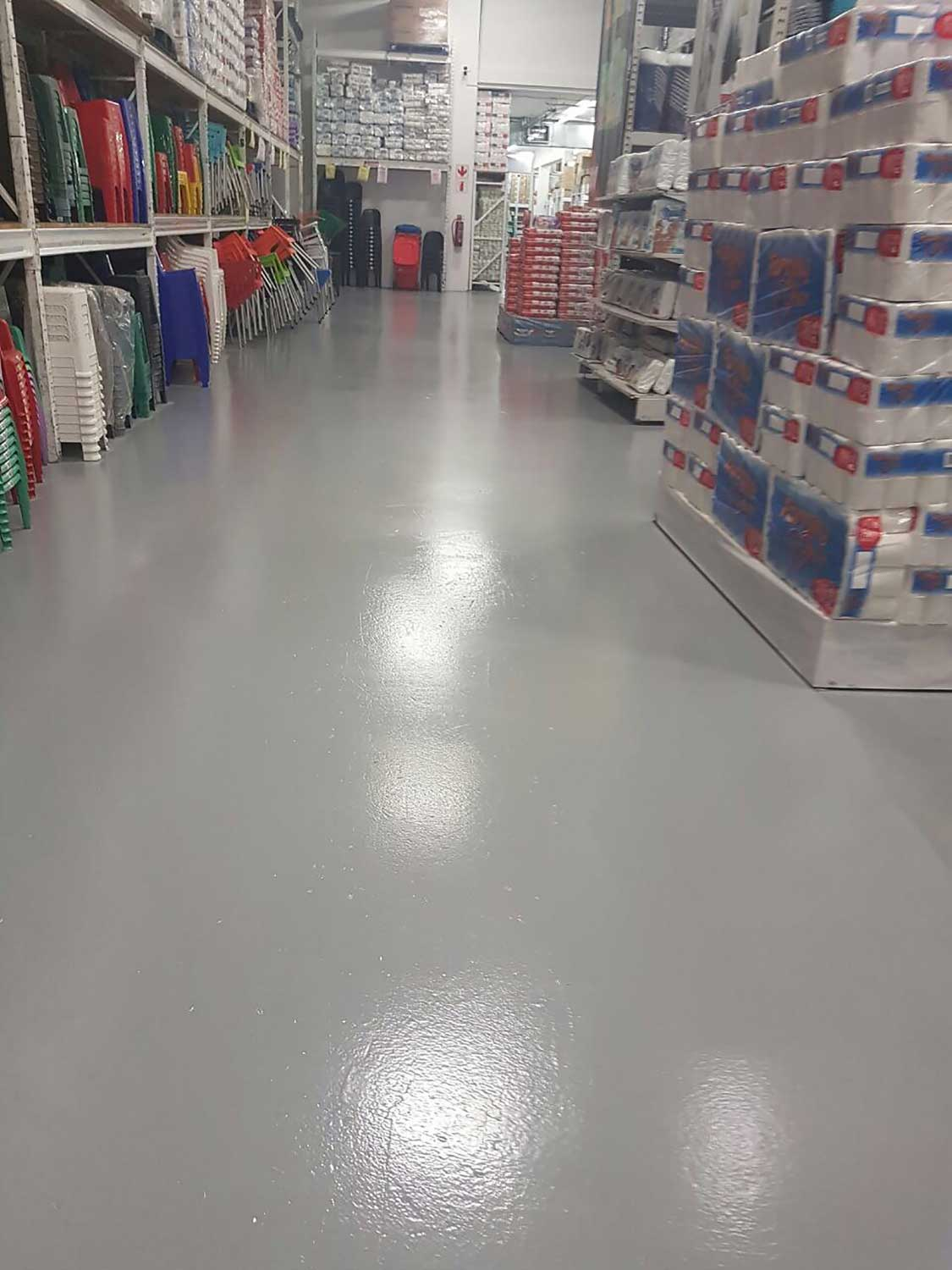 Sikafloor Garage is a two part, water dispersed, coloured, epoxy resin based coating.
