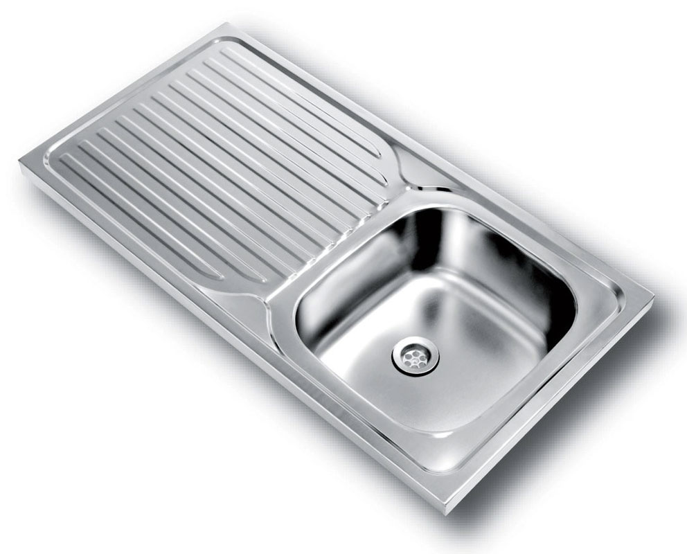 Kwikot product page stainless steel sinks and