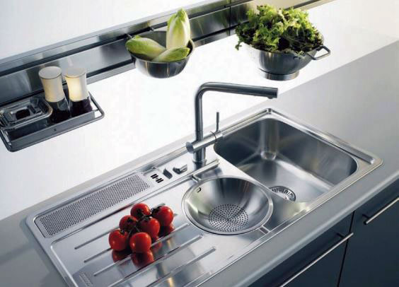 Roco fittings brochures on kitchen and furniture for Bachas para cocina