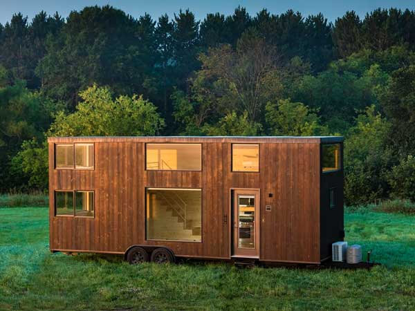 The ultimate micro mobile home