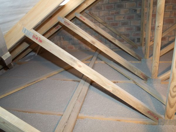 Thermal insulation for ceilings and cavities