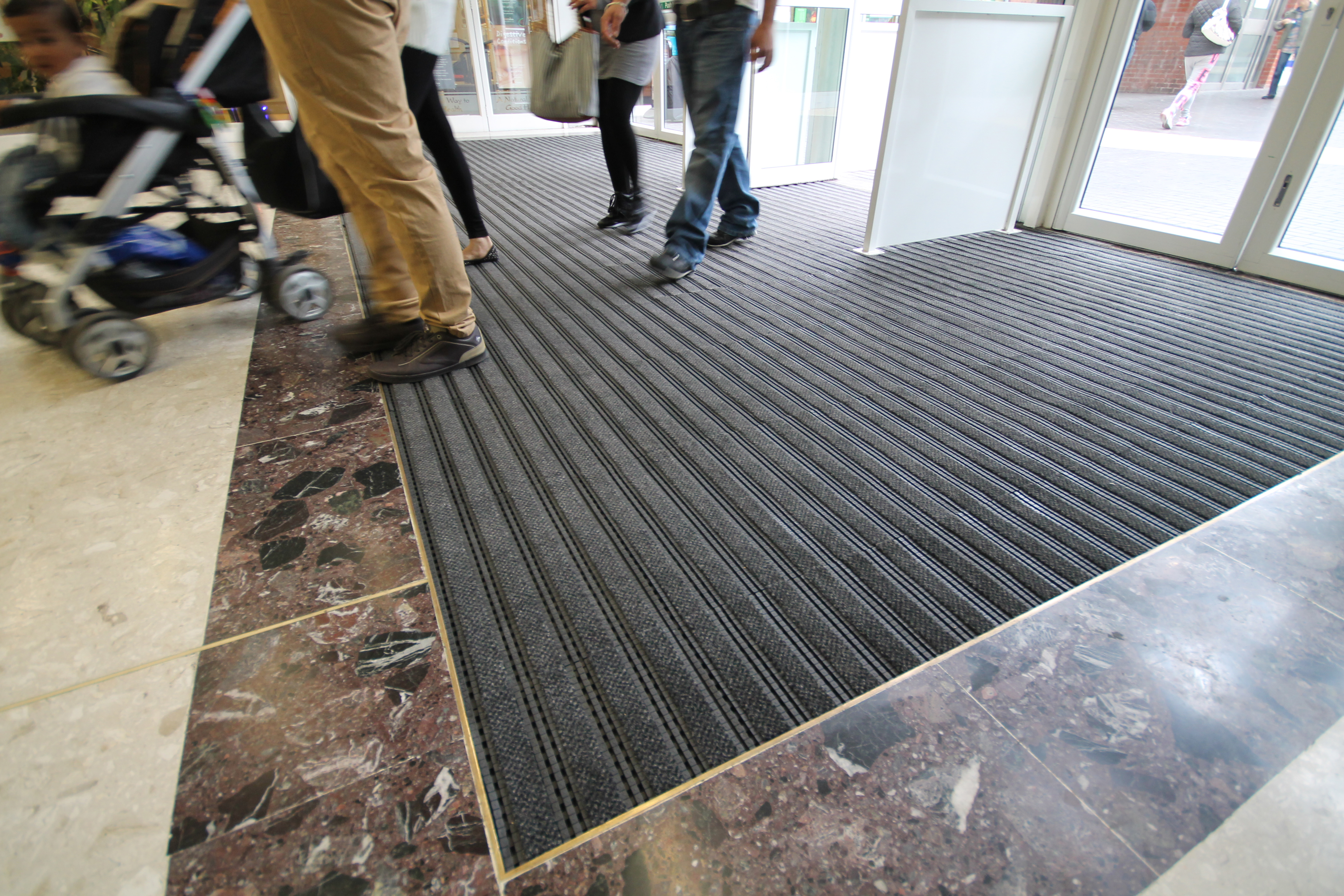 matco save mats this made enhance footprints by company custom matting logo dirty premier your floors from entrance inserting moisture a to application systems absorbing track mat whilst