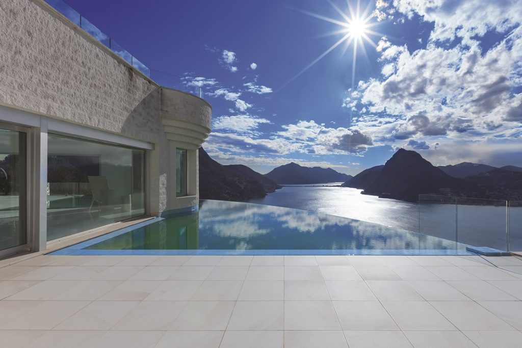 Union Tiles porcelain tiles are the best choice for tiling outside areas