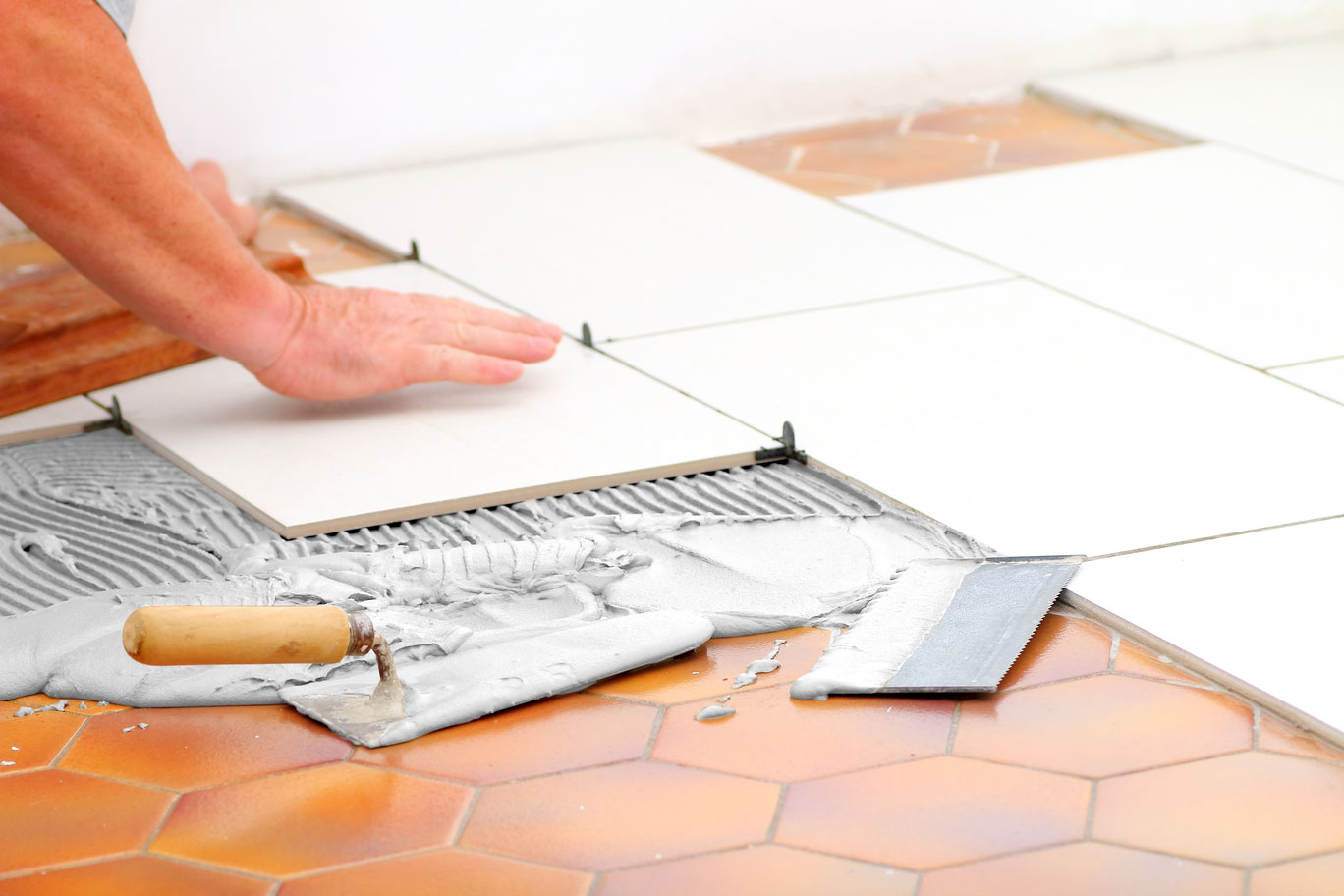 Advice from Saint-Gobain Weber on re-tiling a retail outlet