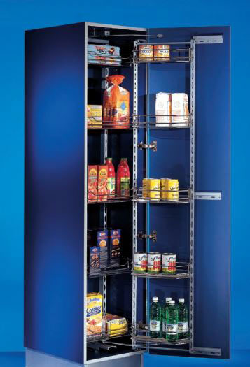 Single Pull Out Storage