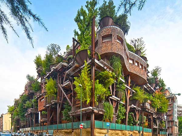 Tree-Style Apartment Complex