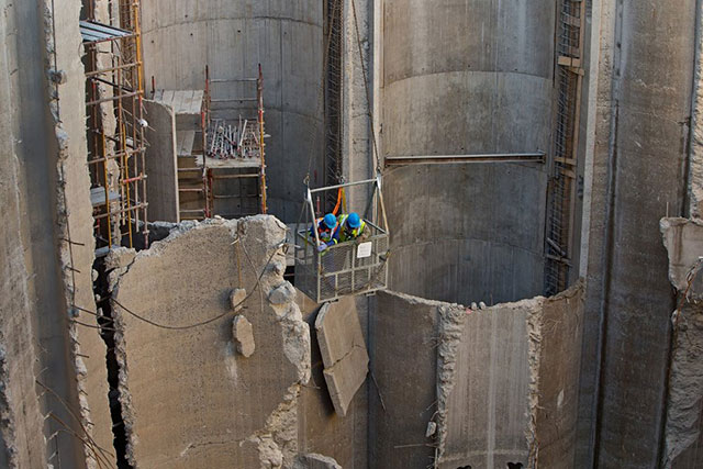 Drywall construction used in Africa's biggest museum