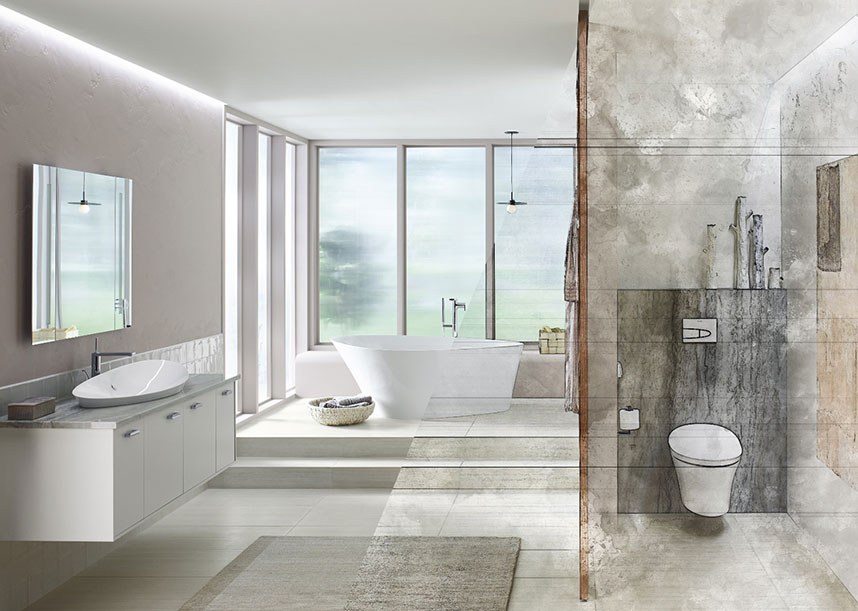 Dream In Kohler Bathroom Design Competition