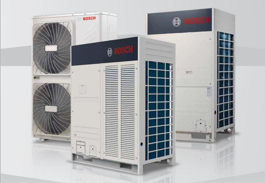Also a powerful partner in the world of air conditioning: Bosch
