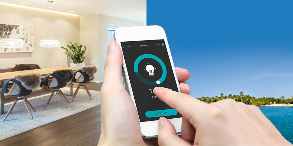 Control your home with your smartphone