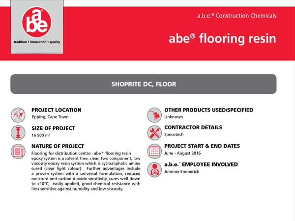a b e  Construction Chemicals Home Page | Specifile