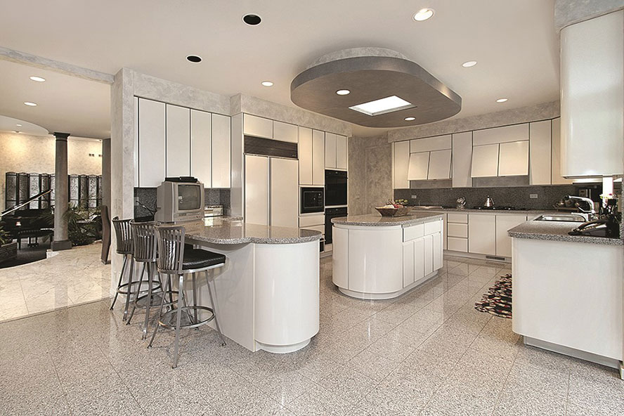 Granite cladding by Union Tiles