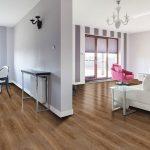 Nutmeg Wishes vinyl flooring planks from the Rococo Xtra range by Van Dyck