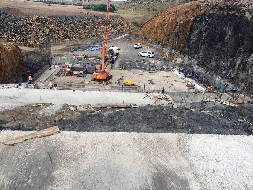 Sika concrete admixtures widely used in Cornelis River Dam project