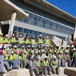 Since October 2015, specialists in large-scale construction, GVK-Siya Zama, have been busy bringing architect, Barry Kok's vision of the new Plett Magistrates Court to life.