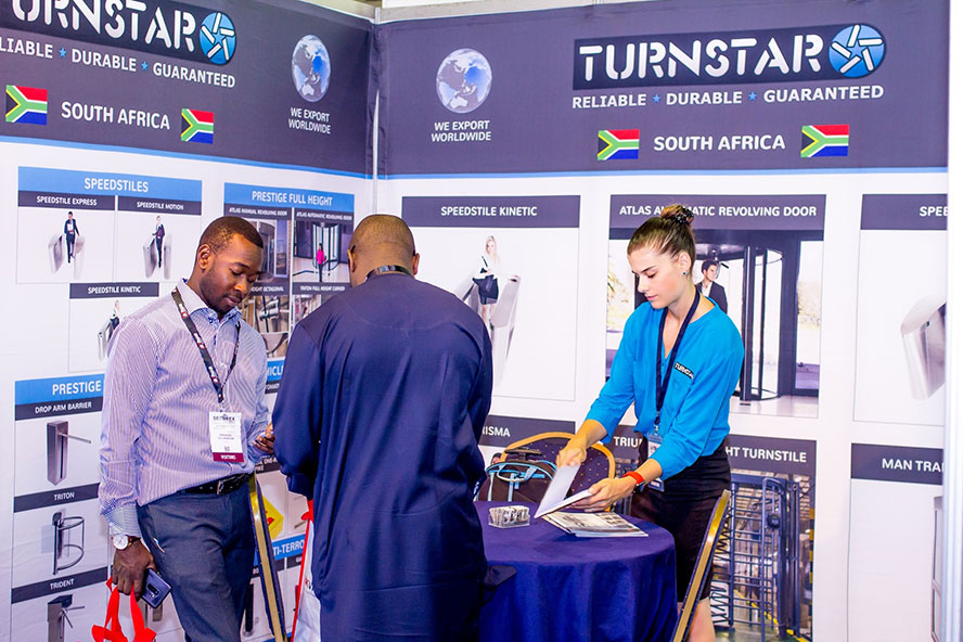 Turnstar at Securex West Africa