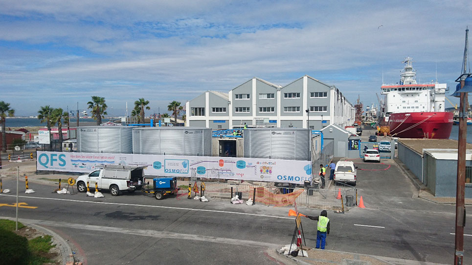 WSP helps City of Cape Town bring emergency desalination plant online
