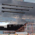 Integrated steel, glass, aluminium and steel façade at 92 Rivonia Road