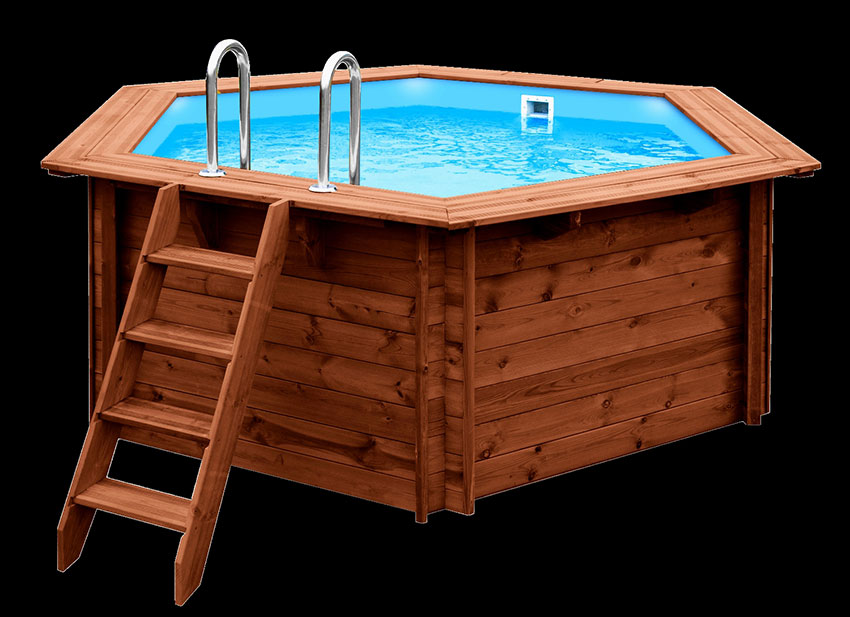 The All New Ready To Assemble Flatpack Wooden Pool By Geza
