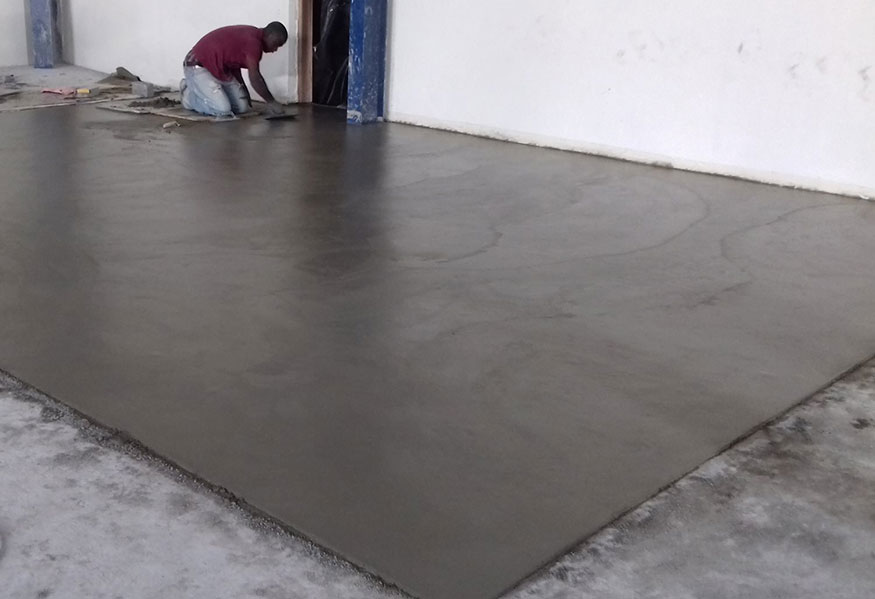a.b.e. expands dustless range with new pre-mixed version of popular floor screed