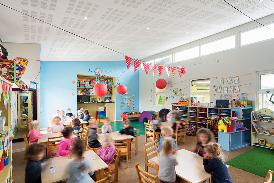 School buildings affect productivity and health