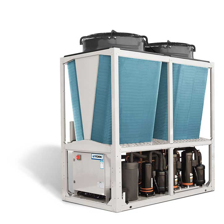 Johnson Controls' YMAA chillers and YMPA heat pumps ramp up the competition in the entry-level chiller segment