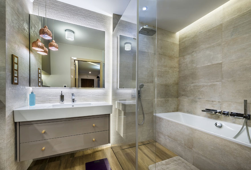 Full body porcelain tiles from Union are ideal for heavy footfall areas