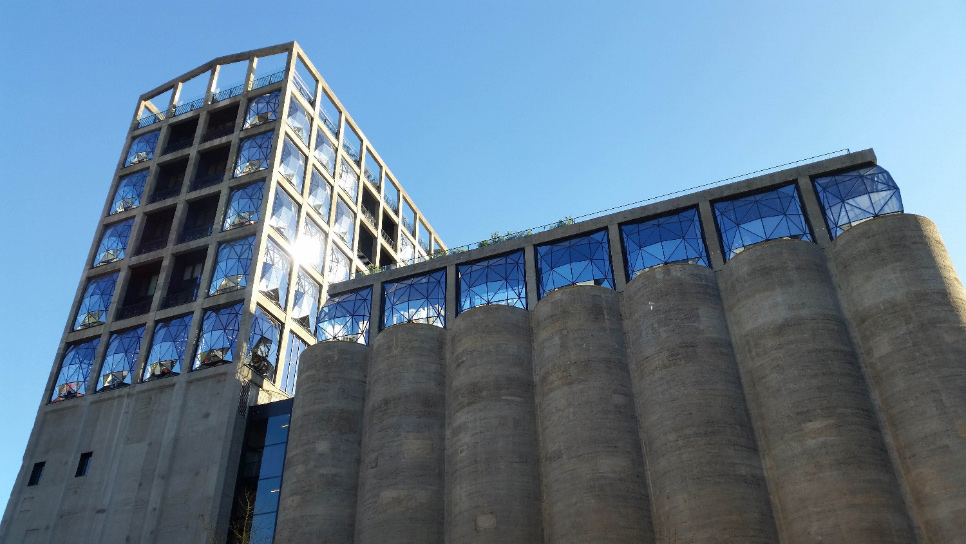 Dowsil structural glazing sealants used at Zeitz MOCAA and The Silo Hotel