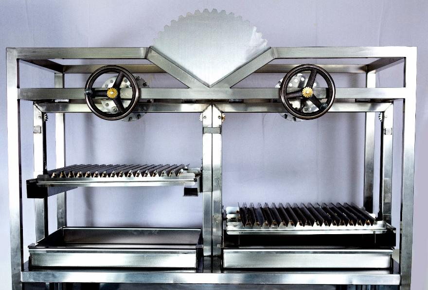 Commercial charcoal grill for restaurants available from Mac Brothers