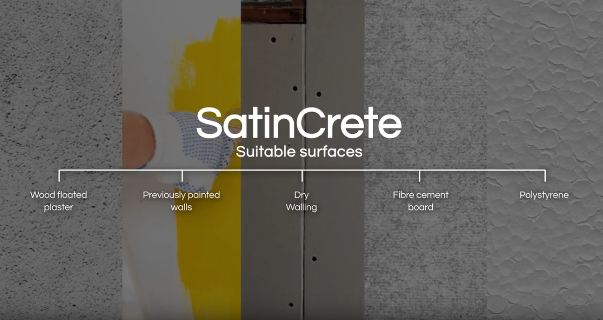 Cemcrete's SatinCrete application overview