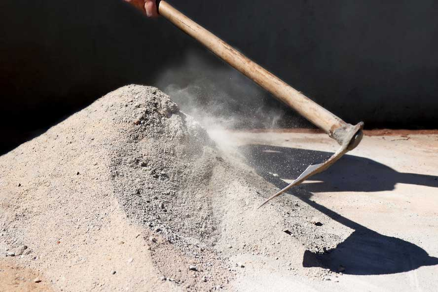 Guidelines on using cement and concrete safely and sensibly
