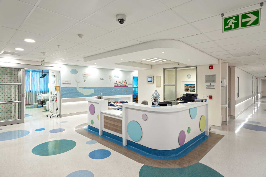Drywall installation augments hospital fit-out
