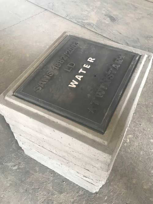 Stackable Valve Box with Polymer Lid