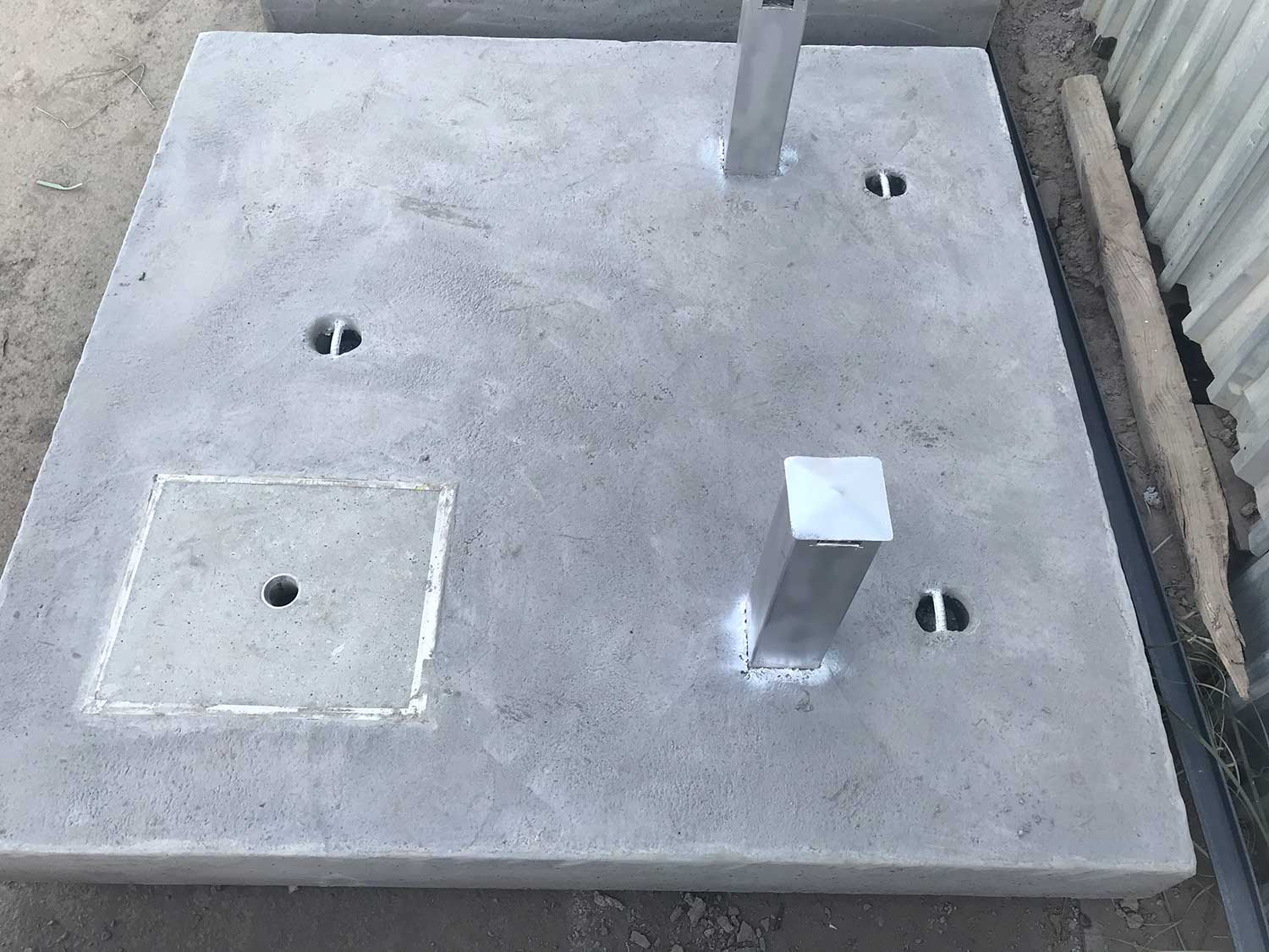 Valve Chamber Slab with Air-Vent