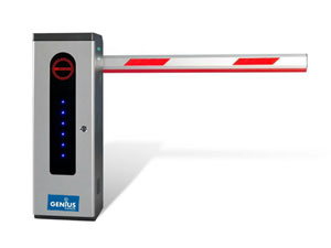 Genius™ Rapid 24V Automated Barrier with Battery Back Up