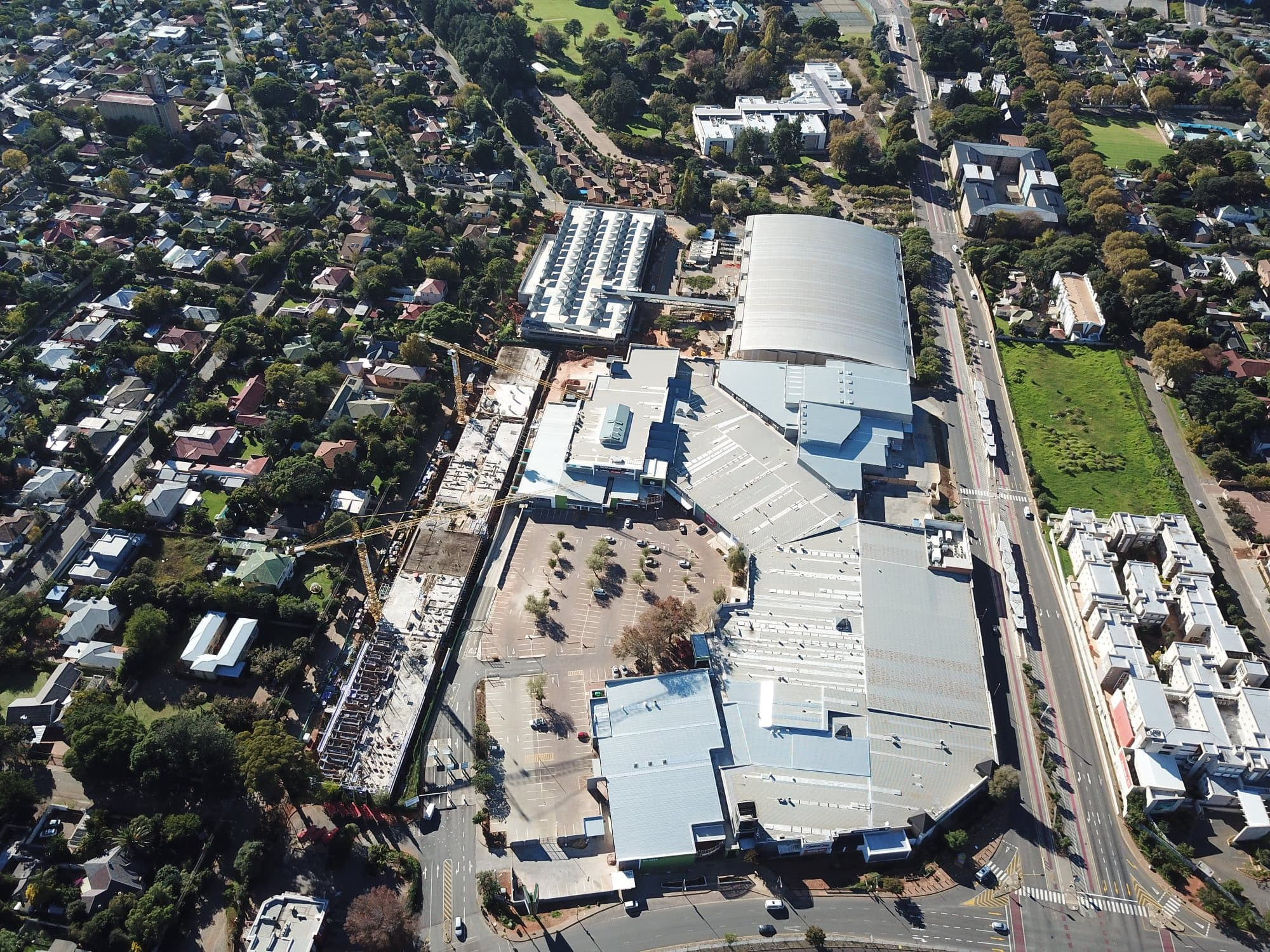 Global Roofing overcomes challenges in Campus Square extension