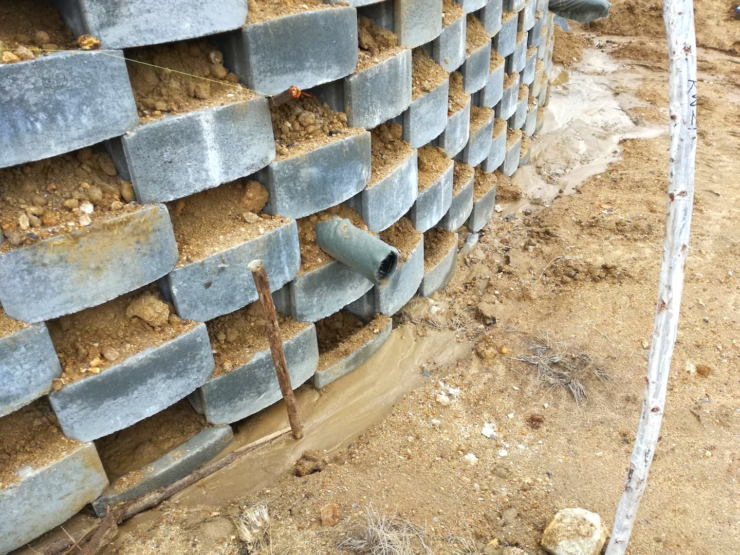 Kaytech provides reinforcement for CRB wall