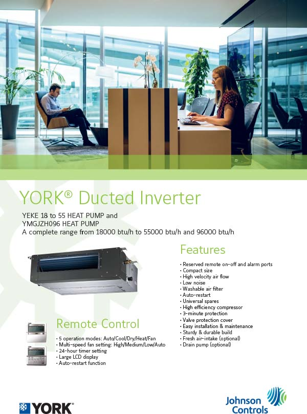 air-conditioningYork® International (SA) Inc by Johnson
