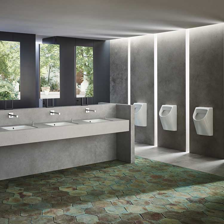 Going touchless – public bathrooms