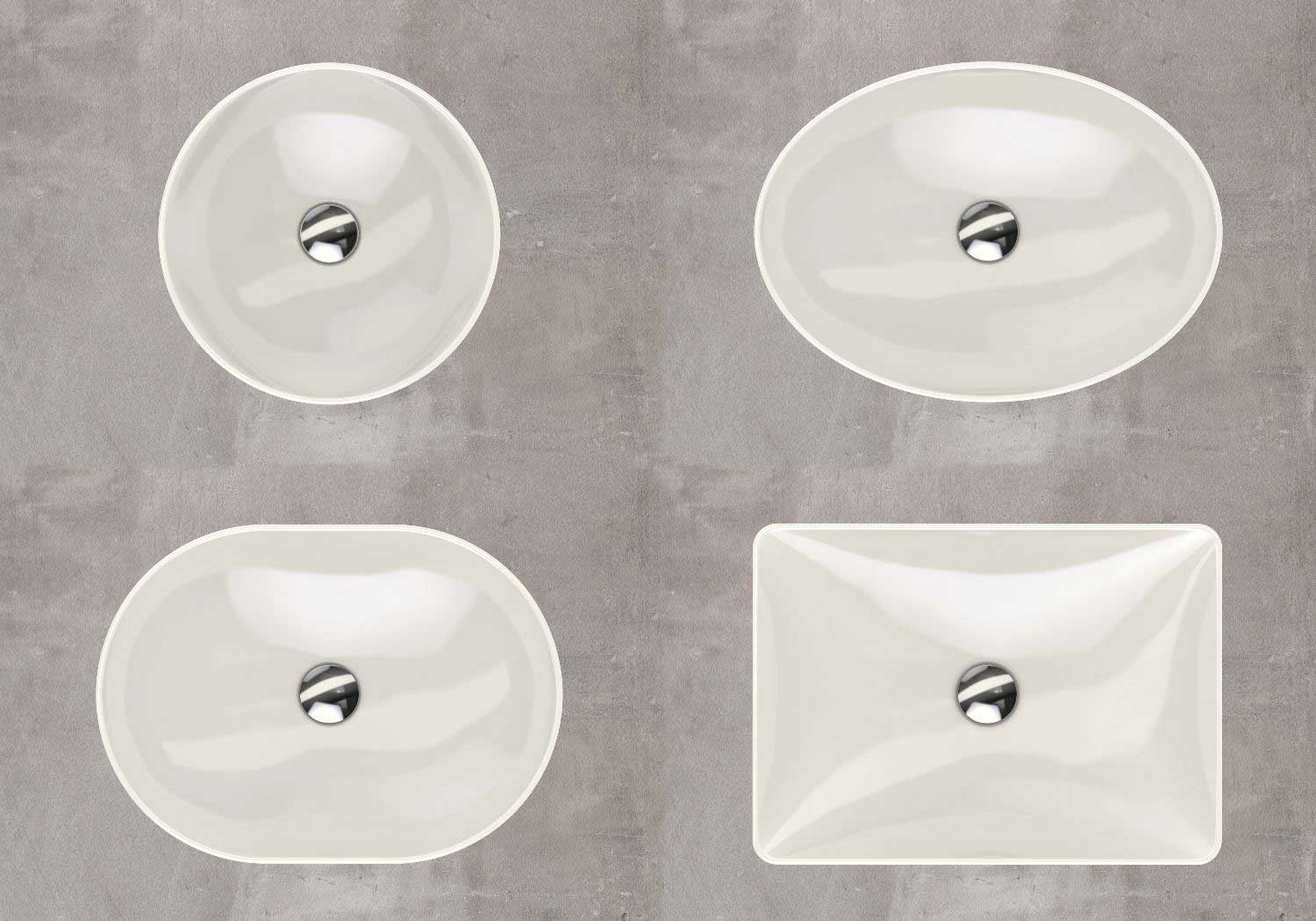 Geberit Variform basins are ideal for use in shopping mall bathrooms