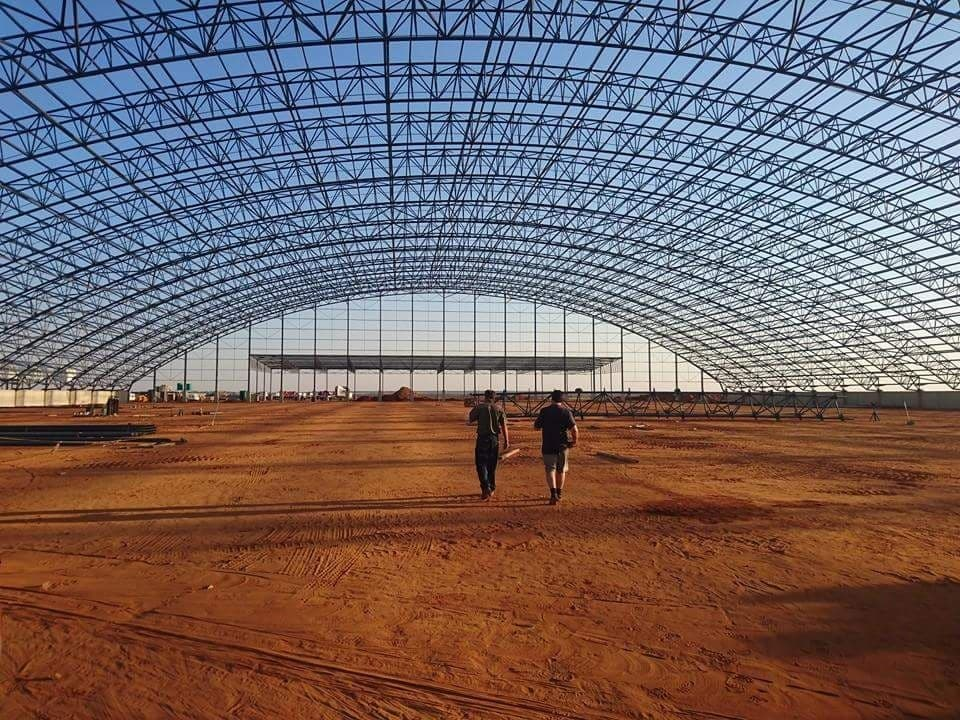 Large-scale dome warehouse biggest in the southern hemisphere