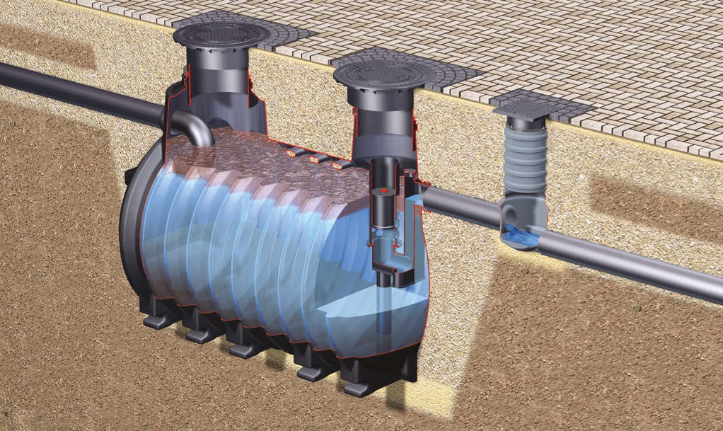 Oil and fuel separators protect our groundwater
