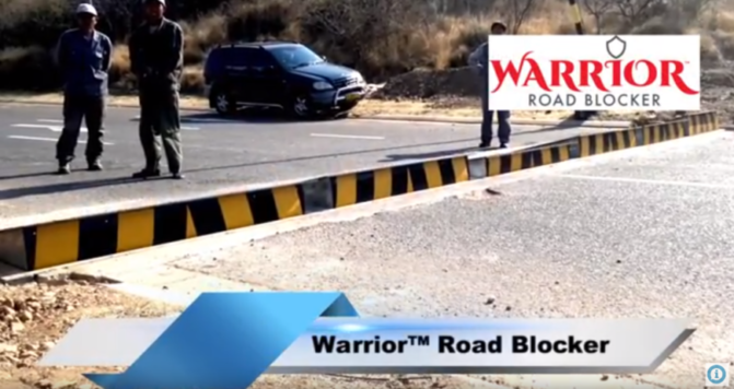 Warrior Road Blocker | Rising Kerb | Boomgate Systems
