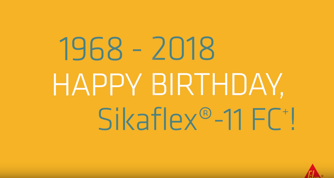 Sikaflex®-11FC+, with you on your journey for 50 years!