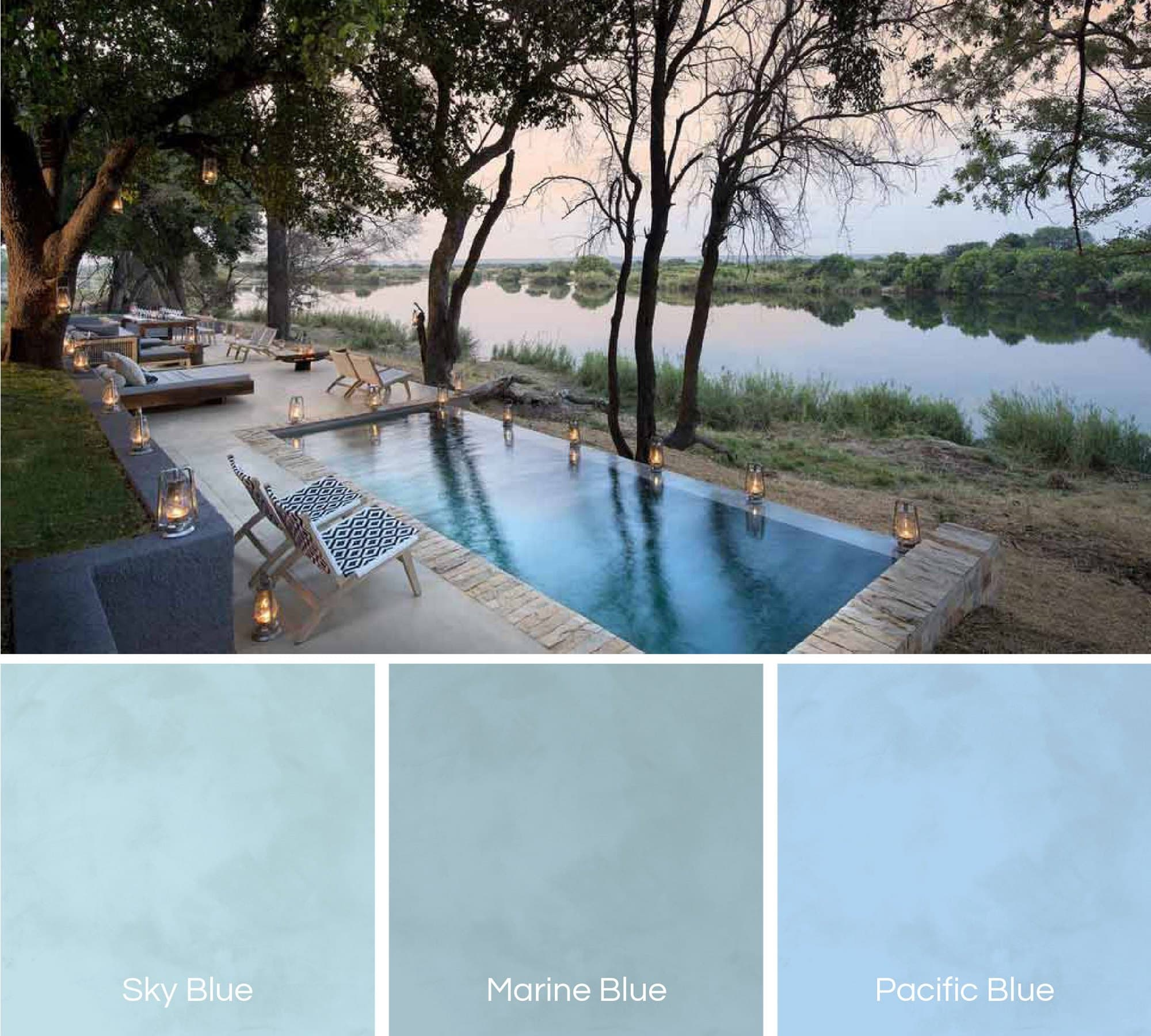 Top 4 pool colour trends for 2019