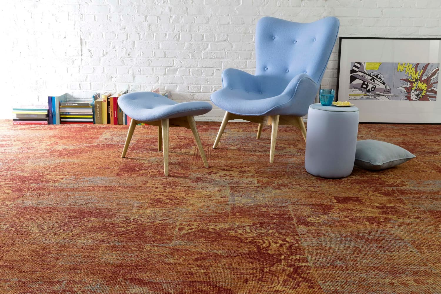 Three exciting new options in Van Dyck Floors' commercial carpet range