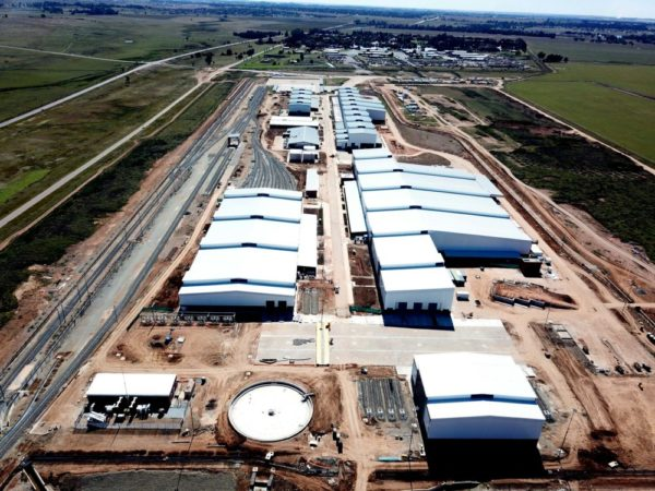 Over 300 tonnes of cladding specified for Gibela Train Station
