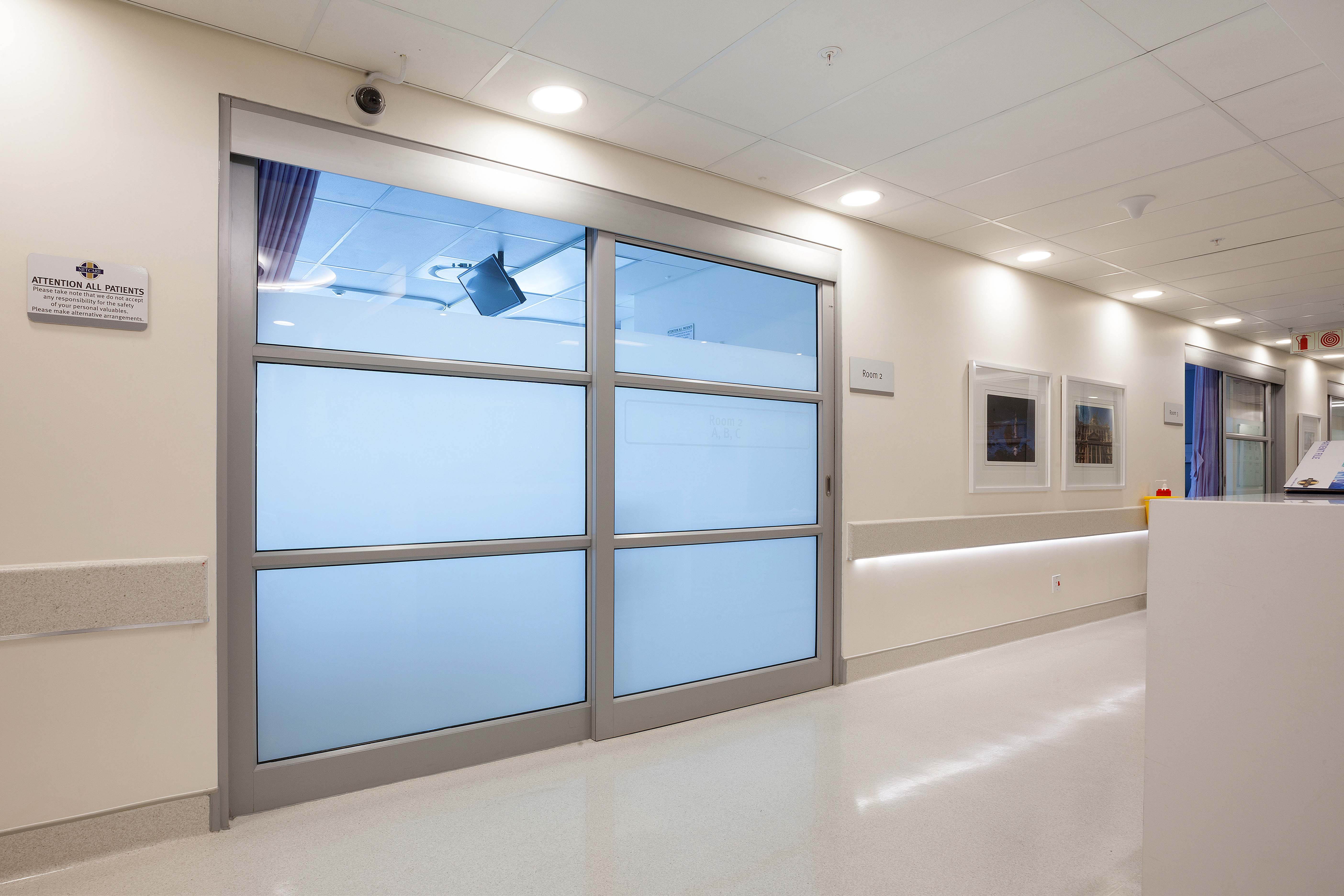 Specialists in Healthcare requirements for safety & security