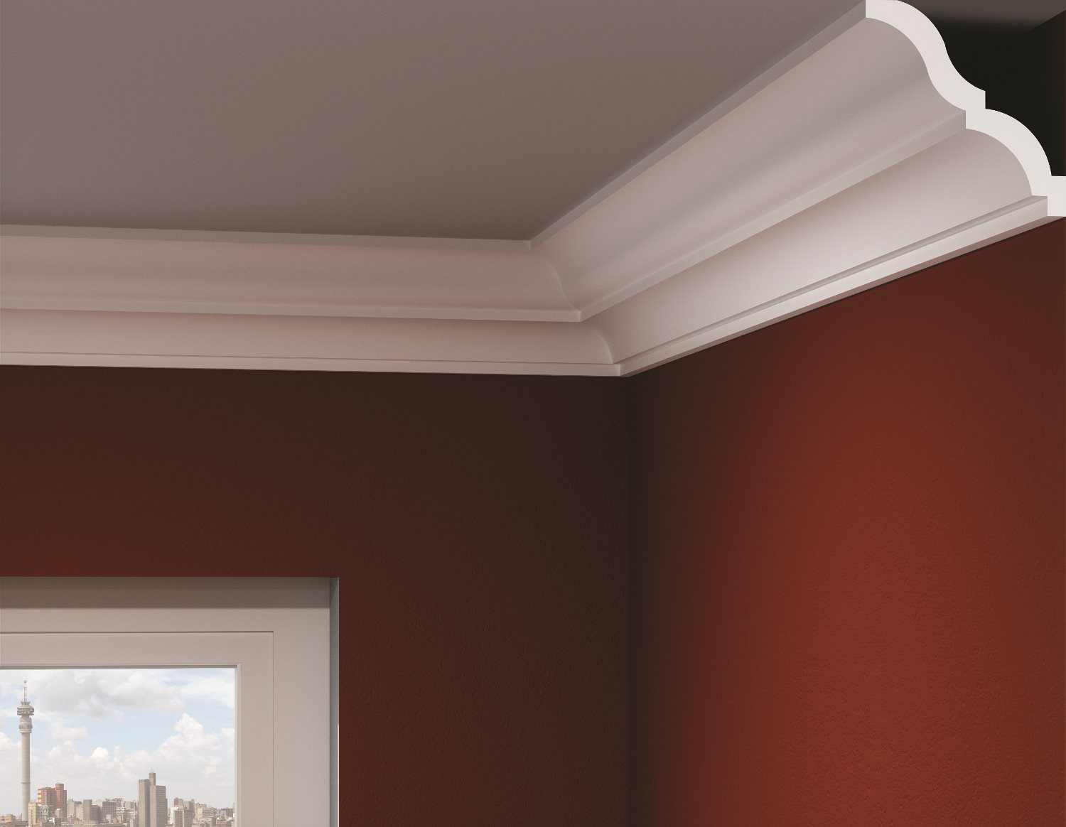 The benefits of choosing polystyrene cornices